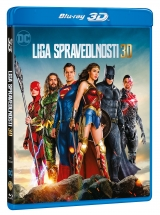 BLU-RAY Film - Justice League 2D/3D