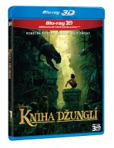 BLU-RAY Film - Kniha džungle - 3D/2D