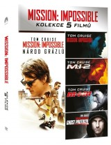 DVD Film - Kolekce: Mission Impossible I. - V. (5 DVD)