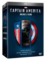 DVD Film - Kolekcia Captain America (3 DVD)