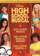 DVD Film - Kolekcia High School Musical (3 DVD)