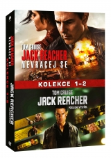 DVD Film - Kolekcia Jack Reacher (2 DVD)