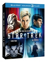 BLU-RAY Film - Kolekcia: Star Trek 1- 3 (3 Bluray)