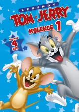 DVD Film - Kolekcia Tom a Jerry (4 DVD)