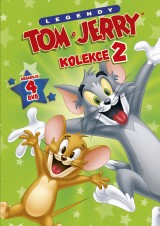 DVD Film - Kolekcia Tom a Jerry II. (4 DVD)