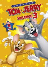 DVD Film - Kolekcia Tom a Jerry III. (4 DVD)