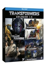 BLU-RAY Film - Kolekcia: Transformers: 1 - 5 (5 Bluray)