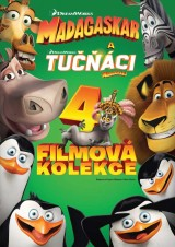 BLU-RAY Film - Kolekcia z Madagaskaru (4 Bluray)