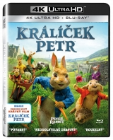 BLU-RAY Film - Králik Peter (UHD+BD)