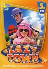DVD Film - Lazy town DVD V. (slimbox)