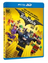 BLU-RAY Film - LEGO Batman vo filme 3D+2D (2 Bluray)