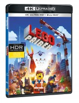 BLU-RAY Film - Lego príbeh - 4K Ultra HD + Blu-ray (2 BD)