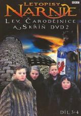 Obrázok - Letopisy Narnie: Lev,čarodejnica a skriňa 2 DVD 3-4 časť(papierový obal)