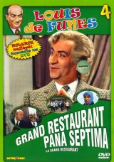DVD Film - Louis de Funés: Grand restaurant pána Septima