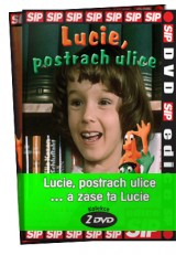 DVD Film - Lucie, postrach ulice… a zase ta Lucie (2 DVD)