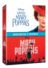DVD Film - Mary Poppins kolekcia 3DVD (2DVD+bonus disk)