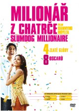 DVD Film - Milionár z chatrče (pap.box)