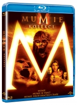 BLU-RAY Film - Múmia kolekcia (3 Bluray)