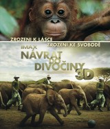 BLU-RAY Film - Návrat do divočiny 3D/2D