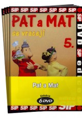 DVD Film - Pat a Mat (6 DVD)