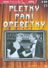 DVD Film - Pletky paní operetky (3DVD + 2CD)