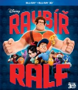 BLU-RAY Film - Ralph Rozbi-to 3D/2D