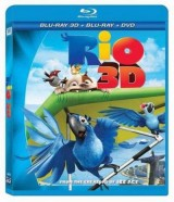 BLU-RAY Film - Rio 3D + 2D (Bluray)