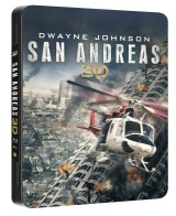 BLU-RAY Film - San Andreas - 3D/2D Futurepack