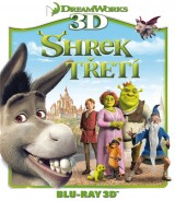 BLU-RAY Film - Shrek Tretí 3D + 2D (Bluray)