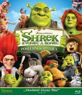 BLU-RAY Film - Shrek: Zvonec a koniec (Bluray)