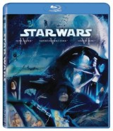 BLU-RAY Film - Star Wars IV, V, VI (3 Bluray)