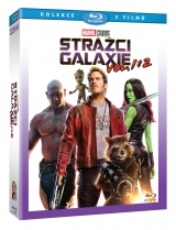 BLU-RAY Film - Strážcovia Galaxie + Strážcovia Galaxie vol. 2 (2 Bluray)