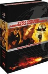 DVD Film - Tom Cruise kolekce: Mission: Impossible I, II, III (3 DVD)