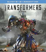 BLU-RAY Film - Transformers: Zánik 3D + 2D (3 Bluray)