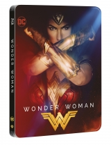 BLU-RAY Film - Wonder Woman 2BD (3D+2D) Steelbook