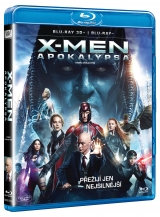 BLU-RAY Film - X-Men: Apokalypsa - 3D/2D