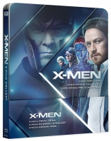 BLU-RAY Film - X-MEN Prequel 4-6 steelbook