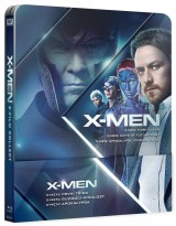 BLU-RAY Film - X-Men Trilógia - Steelbook