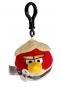 Hračka - Plyšový Angry Birds - Star Wars Skywalker červený - prívesok