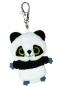 Hračka - Plyšová panda - kľúčenka - YooHoo (7,5 cm)