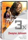 DVD Film - 3x Dwayne Johnson