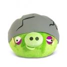 Hračka - Plyšový Angry Birds Pig Helmet (20 cm)