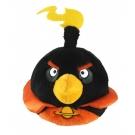 Hračka - Plyšový Angry Birds - Space čierny (20 cm)