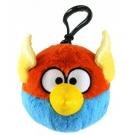 Hračka - Plyšový Angry Birds - Space modrý - prívesok