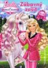 Kniha - Barbie a poníková akadémia - zábavný zošit