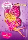 Kniha - Barbie – Mariposa a Kvetinová princezná. Maľovanky so samolepkami