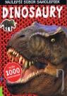 Kniha - Dinosaury, najlepší súbor samolepiek