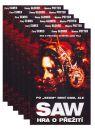 DVD Film - DVD sada: Saw (1 až 6) 6 DVD