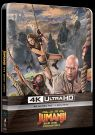 BLU-RAY Film - Jumanji: Ďalší level (UHD+BD) - Steelbook