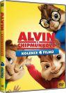 DVD Film - Kolekcia: Alvin a Chipmunkovia 1 - 4 (4 DVD)